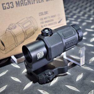 EvolutionGear監製 EOTech 風格 XPS3 G33 三倍側翻 黑色 CF-G33-BK