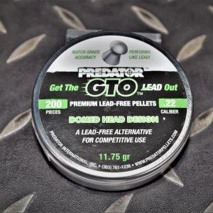 POLYMAG GTO 5.5mm .22 11.75gr 圓頭 喇叭彈 200入