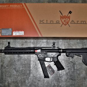 King Arms TWS 9mm Carbine GBB 瓦斯槍 黑色 KA-GBB-24-BK
