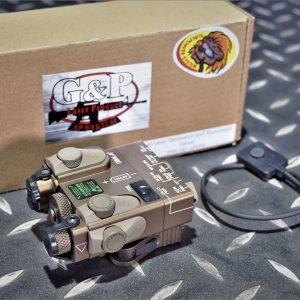 G&P DBAL A2 快拆 紅外線 雷射盒 金屬 IR模式 沙色 GP959S