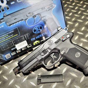 CyberGun 授權 FNX-45T GBB 戰術螺牙版 瓦斯手槍 黑色 VFC-FNX45-BK