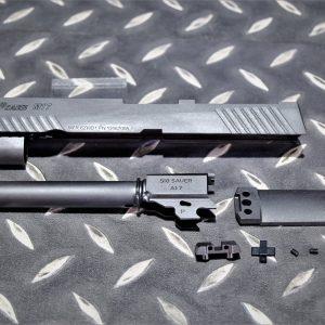 謎版 VFC 系統 M17 SIG SAUER 刻字 鋼製 改裝套件 黑色 DDP-M17-001-BK