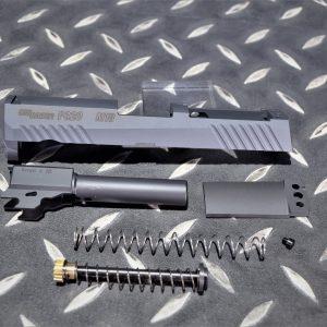 PRO-ARMS VFC SIG P320 M18 鋼製滑套+鋼外管 套件 BK 黑色
