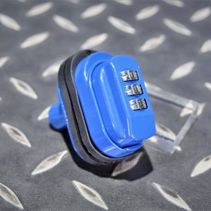 槍鎖 手槍鎖 密碼鎖 金屬製 PPQ GLOCK M1911 M9 M&P9 藍色 GUN-LOCK-BL