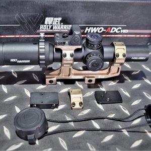 HOLY WARRIOR 悍武 HWO-ADC HD 1-5×24 短瞄狙擊鏡 1.93鏡座 快撥桿 RMR 套組 HW-ADC-RMR