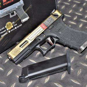 WE WET 原力 GLOCK G18C Gen4 GBB 瓦斯槍 手槍 鈦金色 WE-G002WET-TG