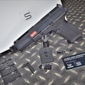 EMG SAI UTILITY STANDARD G17 GBB 瓦斯手槍 WE系統 壓花鋁滑套 黑色