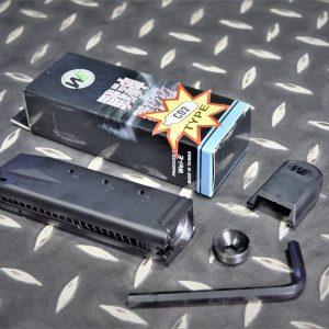 WE P99 戰神 劈玖玖CO2 彈匣 黑色 WEA-P99-CO2