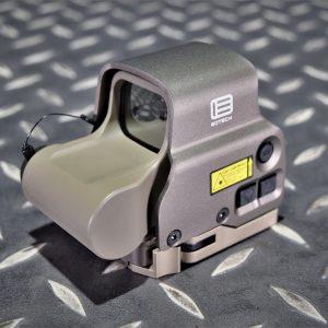 悍武 HWO Eotech 風格 EXPS3 內紅點 電視機快瞄 紅光 沙色