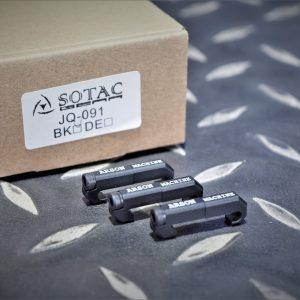SOTAC 魚骨 尾線卡槽 鼠尾固定座 線控 整線 集線 黑色 JQ-091-BK