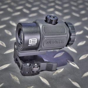 悍武 HWO Eotech 風格 G43 快翻折疊式 3倍側翻鏡 黑色 HW-G43-BK