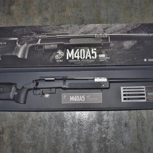 TOKYO MARUI 馬牌 M40A5 手拉空氣 狙擊槍 拉一打一 黑色 TM-M40A5-BK