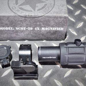 Vector Optics 維特 翻蓋式 4倍瞄具放大鏡 4倍 側翻鏡 SCOT-29-17