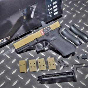 WE G17V GEN5 RMR MOS 金屬滑套 瓦斯手槍 GBB 沙黑色 WE-G17VMOS-Y
