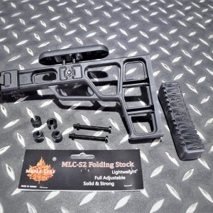 楓葉精密 MLC-S2 折疊後托 GBB 瓦斯步槍