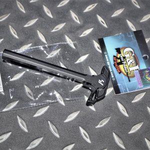 G&P MARUI MWS M4 GBB 鋁合金 槍機拉柄 CNC EMG SI 黑色 SI008