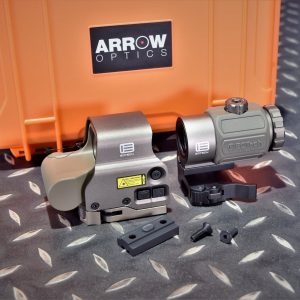 ARROW EO-Tech風格 IR模式 558 EXPS3 快拆內紅點快瞄 G43 側翻3倍鏡 沙色套組 ARROW-558G43-DE