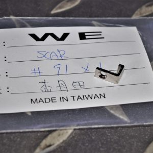 WE SCAR #91 原廠零件 射控選擇鈕連桿前卡榫 WE-SCAR-91