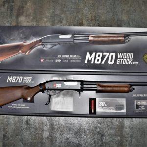 TOKYO MARUI 馬牌 M870 Wood Stock 瓦斯散彈槍 霰彈槍 實木 槍托版