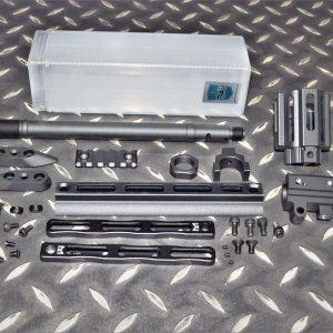 RGW WE SCAR L H用 CNC 鋁合金 M-LOK 護木外管延伸套件 黑色 RGW-R005-BK