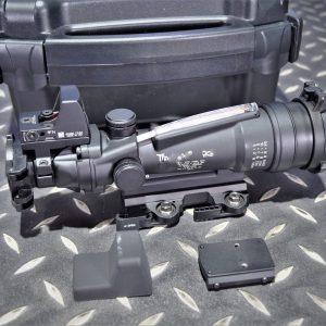 類Trijicon ACOG TA11 3.5×35 大海螺瞄準鏡 光纖 自動感光 紅光 附RMR內紅點 TRIJICON-TA11-RMR