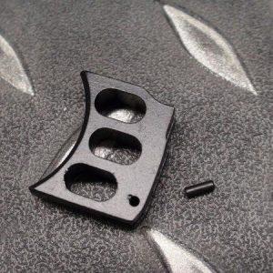 5KU MARUI KJ WE M1911 MEU HI-CAPA通用鋁合金板機片 WA/KSC不可用 黑色下標區 GB-203-B