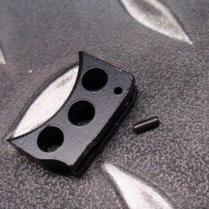 5KU MARUI KJ WE M1911 MEU HI-CAPA通用鋁合金板機片 WA/KSC不可用 黑色下標區 GB-201-B