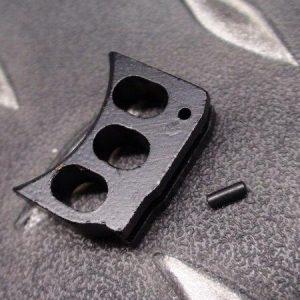 5KU MARUI KJ WE M1911 MEU HI-CAPA通用鋁合金板機片 WA/KSC不可用 黑色下標區 GB-202-B