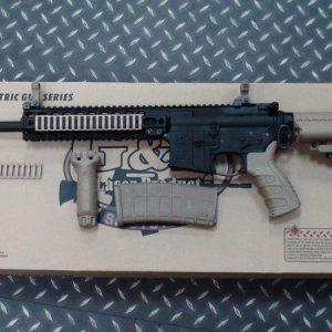 G&P LMT 授權 AEG MRP 全金屬電動槍 長版 沙色下標區 GP-AEG010-DE