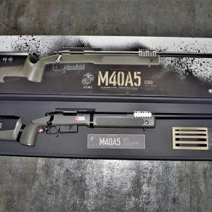 TOKYO MARUI 馬牌 M40A5 手拉空氣 狙擊槍 拉一打一 軍綠色 TM-M40A5-OD