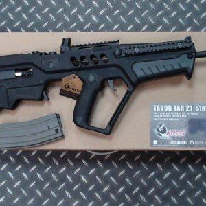 ARES TAR-21 AEG 電動槍 CYBERGUNG 授權 黑色 ARES-AEG-44-BK
