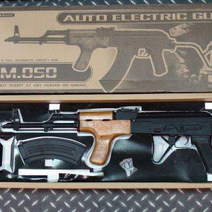 司馬 AK AIMS 全金屬實木電動槍 槍機回復作動 CM-050