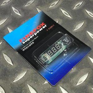 鋰電-鋰聚電池 測壓電壓表低壓警報 F3S003