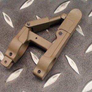 M4 M16 三角 折疊 摺疊 準心 狙擊 沙色下標區 ICS0029-1