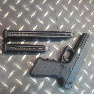 WE G18C GEN4 單連發版 GLOCK 瓦斯槍 GBB 50發彈匣 WEB02S-G18-2-A