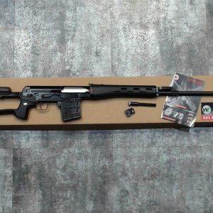 WE SVD GBB 瓦斯狙擊槍 塑膠托+鋁合金槍身 WE-SVD