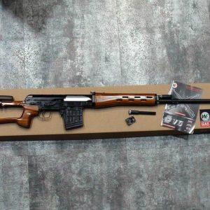 WE SVD GBB 瓦斯狙擊槍 木托+鋁合金槍身 WE-SVD-S