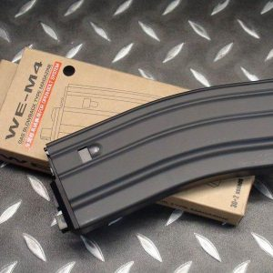 WE M4瓦斯彈匣 全開膛 M4 SCAR 通用 黑色 WEM4GMAB