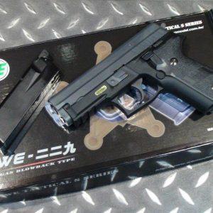 WE 全金屬 P229 GBB 瓦斯手槍 下魚骨版 WEB01-P229