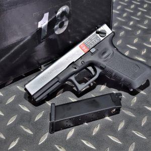 WE GLOCK G18C Gen3 A版 單連發 瓦斯槍 GBB 手槍 WE-G002A-SV