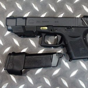 WE GLOCK G26C 單連發瓦斯槍 攻殼機動隊 動漫版 黑色WE-G26C-B