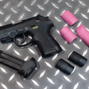 WE PX4C 鬥牛犬瓦斯手槍 GBB 双匣 黑色 WEB01-PX4C