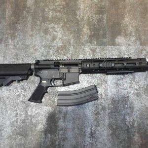 WE M4 R5 GBB  全金屬 瓦斯槍 長槍 黑色 WE-R5-B