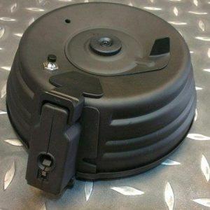 CYMA 司馬 AK47 專用圓型2500發全金屬電動彈鼓 按鍵式 C-38