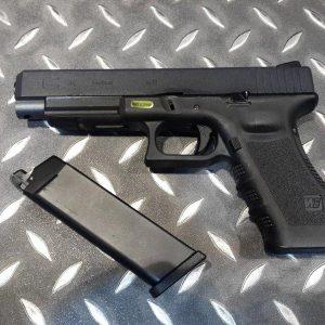 WE GLOCK G34 A版 GBB 瓦斯手槍 黑色 WE-G34A