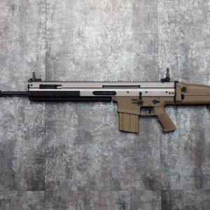 WE SCAR SSR MK20 全金屬 電槍 AEG 金屬BOX 強磁馬達 沙色  WE-SCARSSR-A
