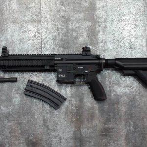 VFC HK416 V2 Umarex AEG 6mm全金屬 電動槍 黑色 VFC-HK416D-ABK