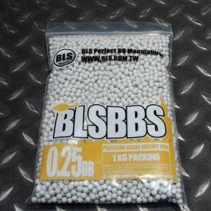 BLS 0.25g 4000發裝 生存遊戲專用BB彈 1-5包單一運費 0.25 BLS-H25HC