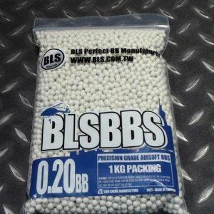 BLS 0.2g 5000發裝 生存遊戲專用BB彈 1-5包單一運費 0.2 BLS-H2HC