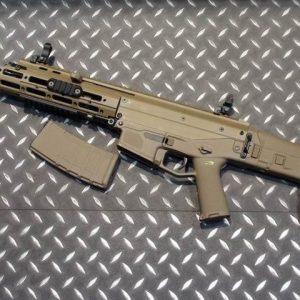 WE ACR 一刀流 MASADA AEG 電動槍 長槍 短版 折疊托 沙色 WE-ACR-AEG-AS
